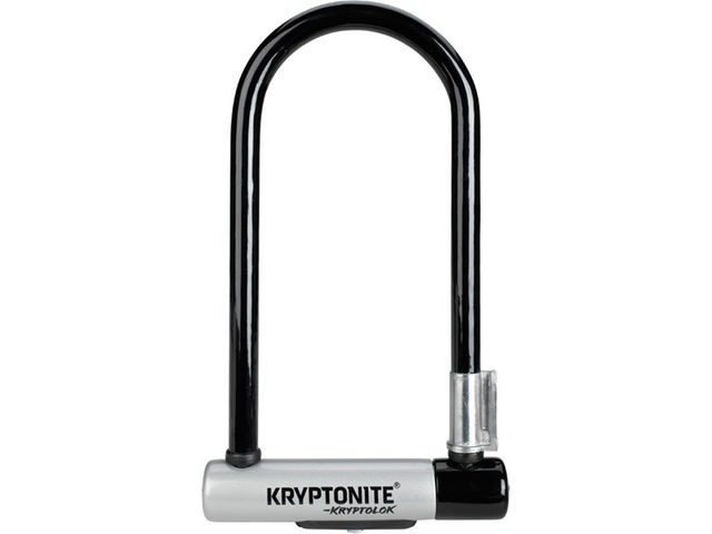 KRYPTONITE KryptoLok Standard U-lock with with FlexFrame bracket click to zoom image