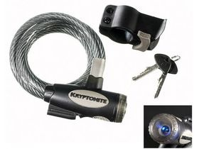 KRYPTONITE Kryptoflex lighted key cable lock with bracket (10 mm x 150 cm)