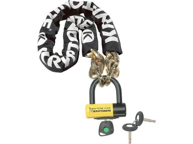 KRYPTONITE New York Fahgettaboudit chain and padlock 150 cm click to zoom image