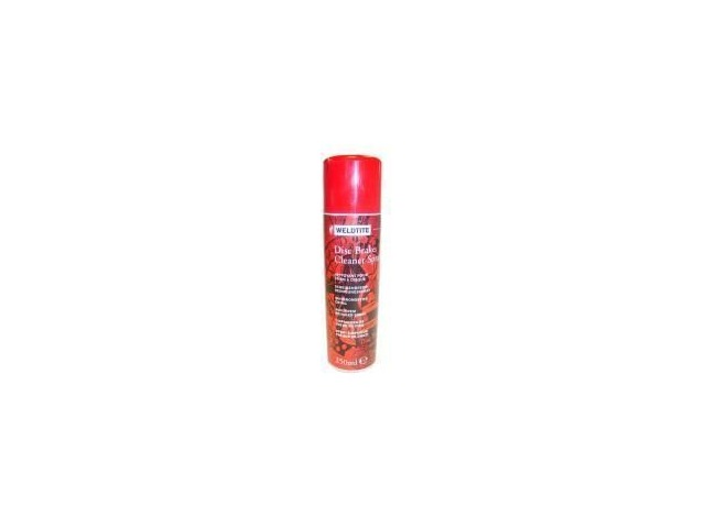 WELDTITE Disc Brake      Cleaner click to zoom image