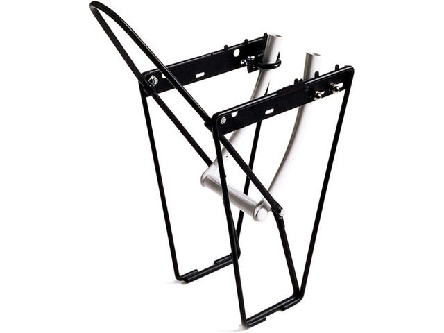 M-PART FLRB front low rider rack with mounting brackets and hoop alloy black click to zoom image