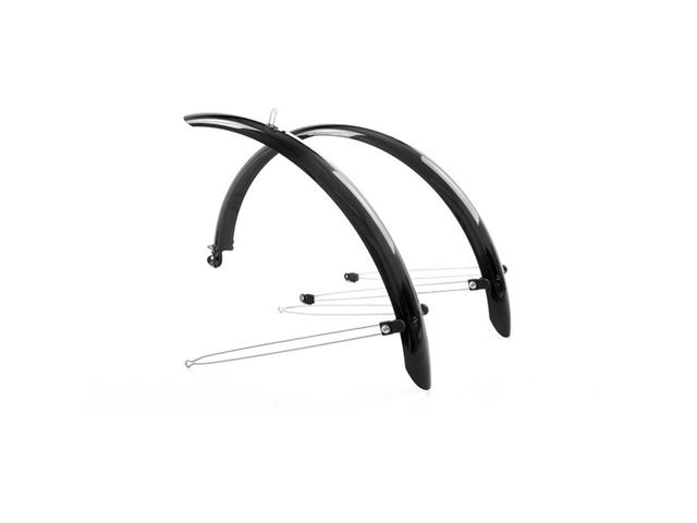 M-PART Commute full length mudguards 700 x 55mm black click to zoom image