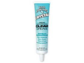 White Lightning Crystal, Clear Grease, 3.5oz 100g tube