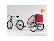 Adventure AT6 - alloy 2-seater bicycle trailer click to zoom image